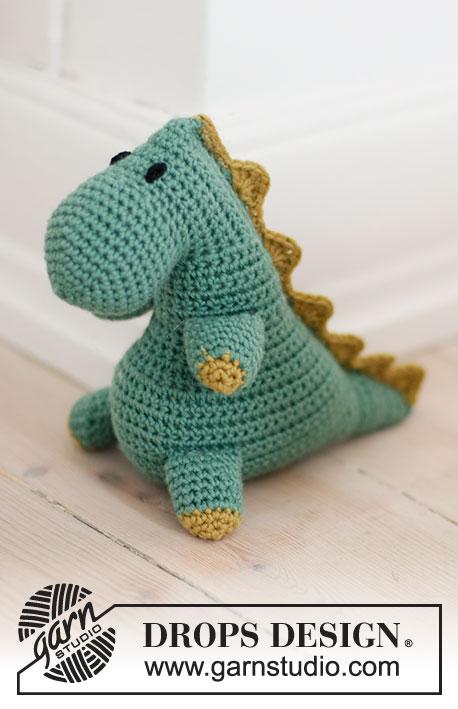 free crochet pattern for a t rex