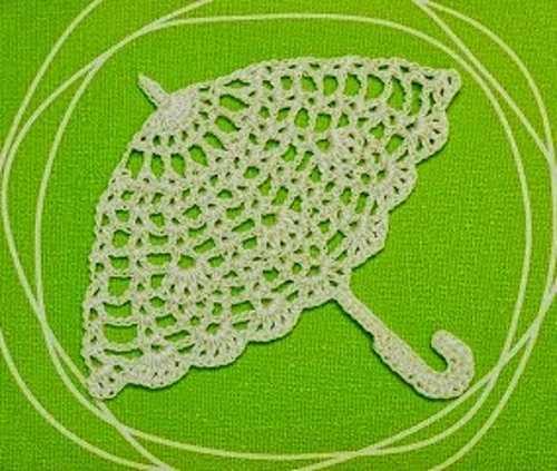 Crochet Diagram Patterns for Umbrellas and Parasols