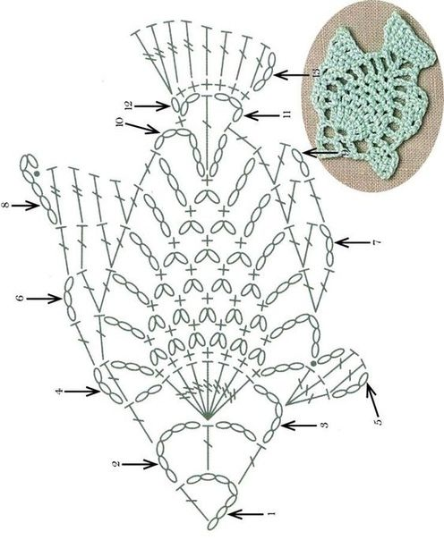 Lace-fish-motif-crochet-pattern