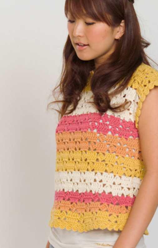 Free crochet tee pattern for women easy