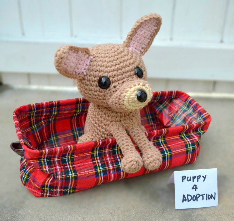 Free pattern for a crochet chihuahua
