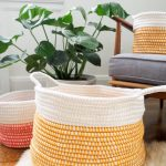 Coiled Crochet Basket Free Pattern