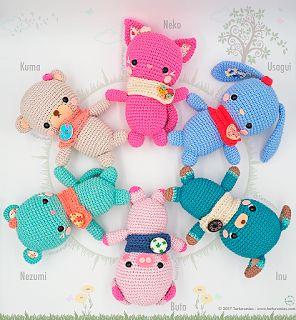 Crochet Patterns Animals amigurumi