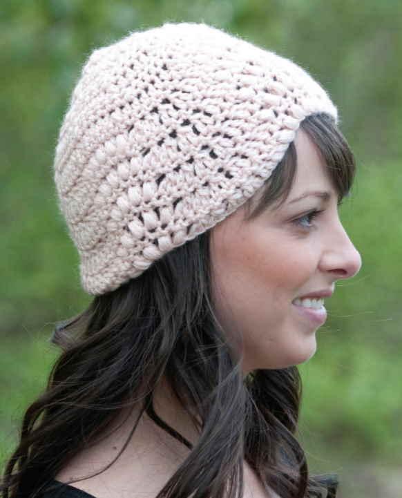 20 Free Crochet Hat Patterns wave stitch