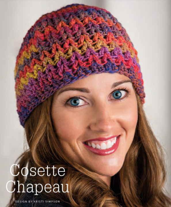 Easy crochet hat pattern free