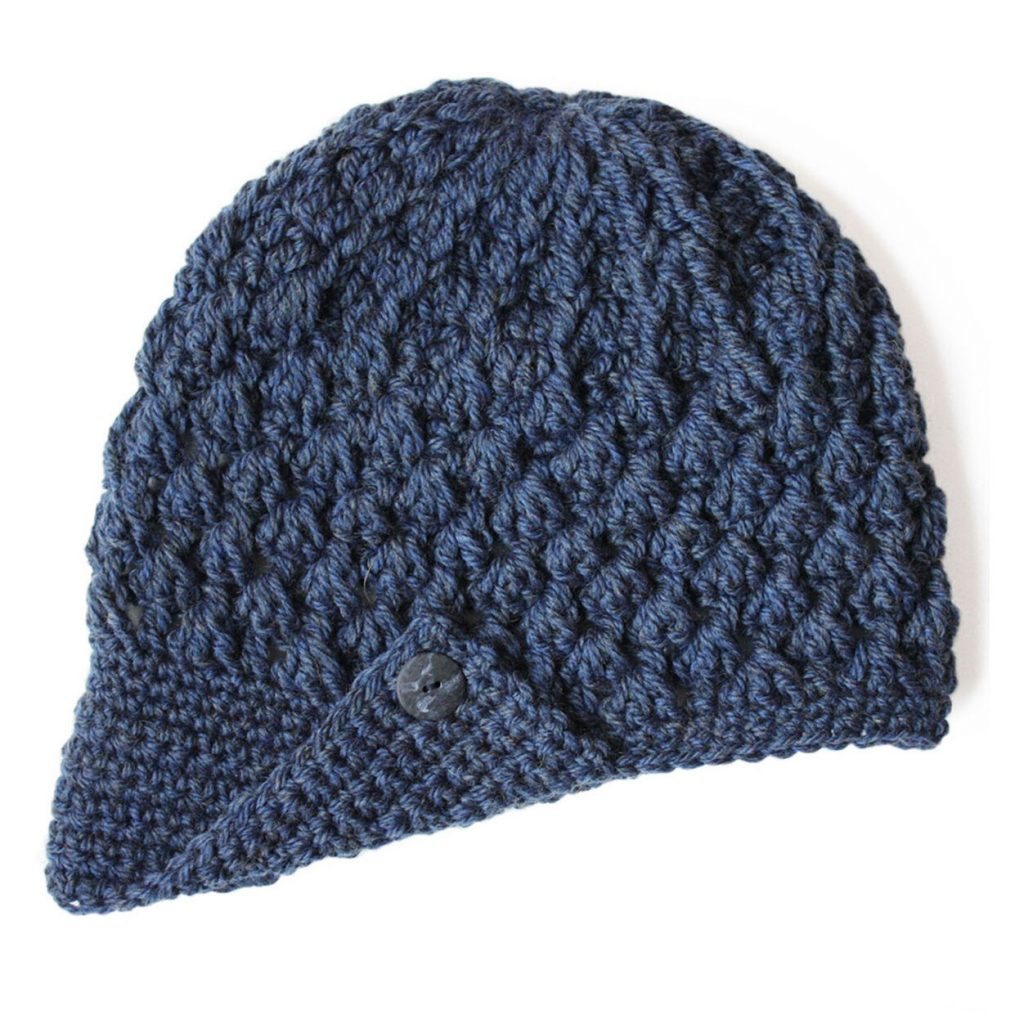 Free crochet pattern for a cap hat Patons