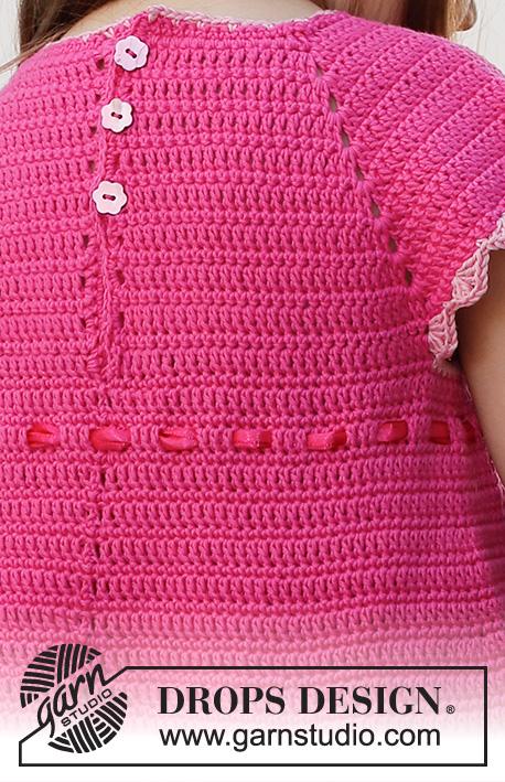 Baby and Kids Crochet Dress Free Pattern