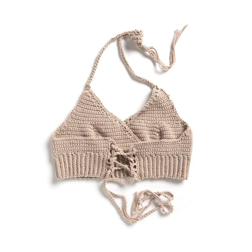 Free Crochet Pattern for a Festival Bralette