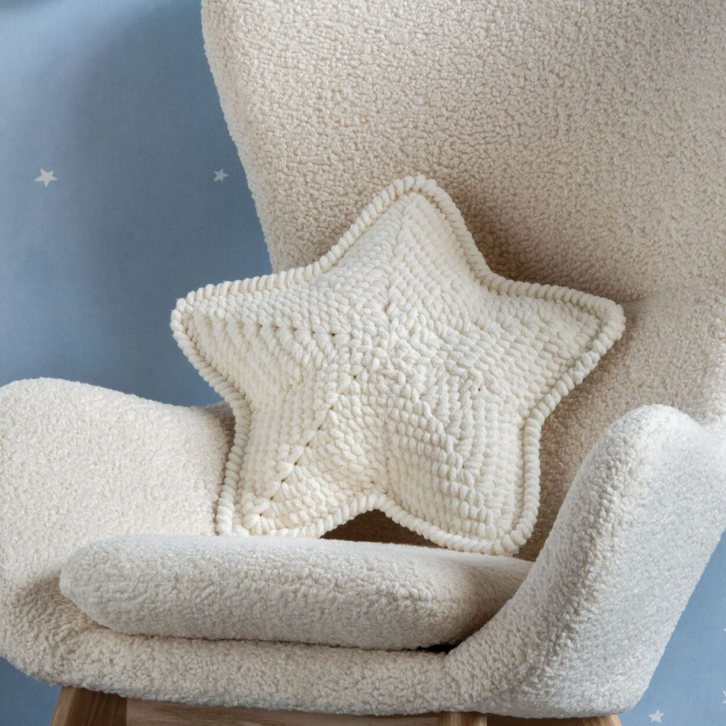 Free Crochet Pattern for a Lucky Star