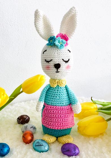 long eared bunny crochet patterns