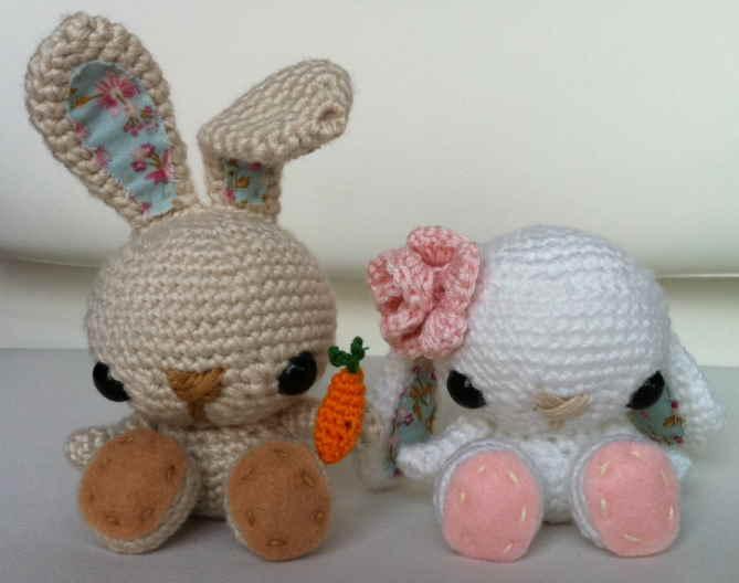 Amigurumi Bunny Free Crochet Pattern floppy ears