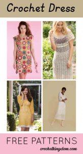 Crochet Dress Pattern - 12 Free Downloads