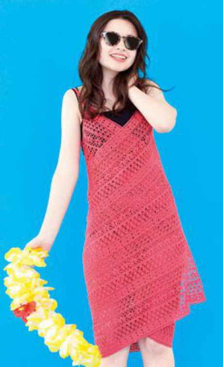 Free crochet pattern for a summer dress