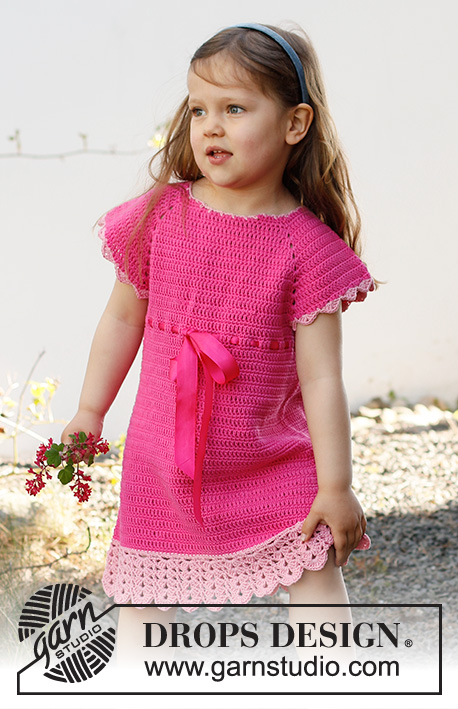 Free Crochet Dress Pattern for Babies and Girls