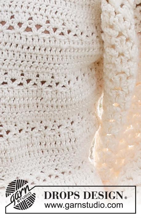 Free Ladies Lace Puffed Sleeve Top Crochet Pattern