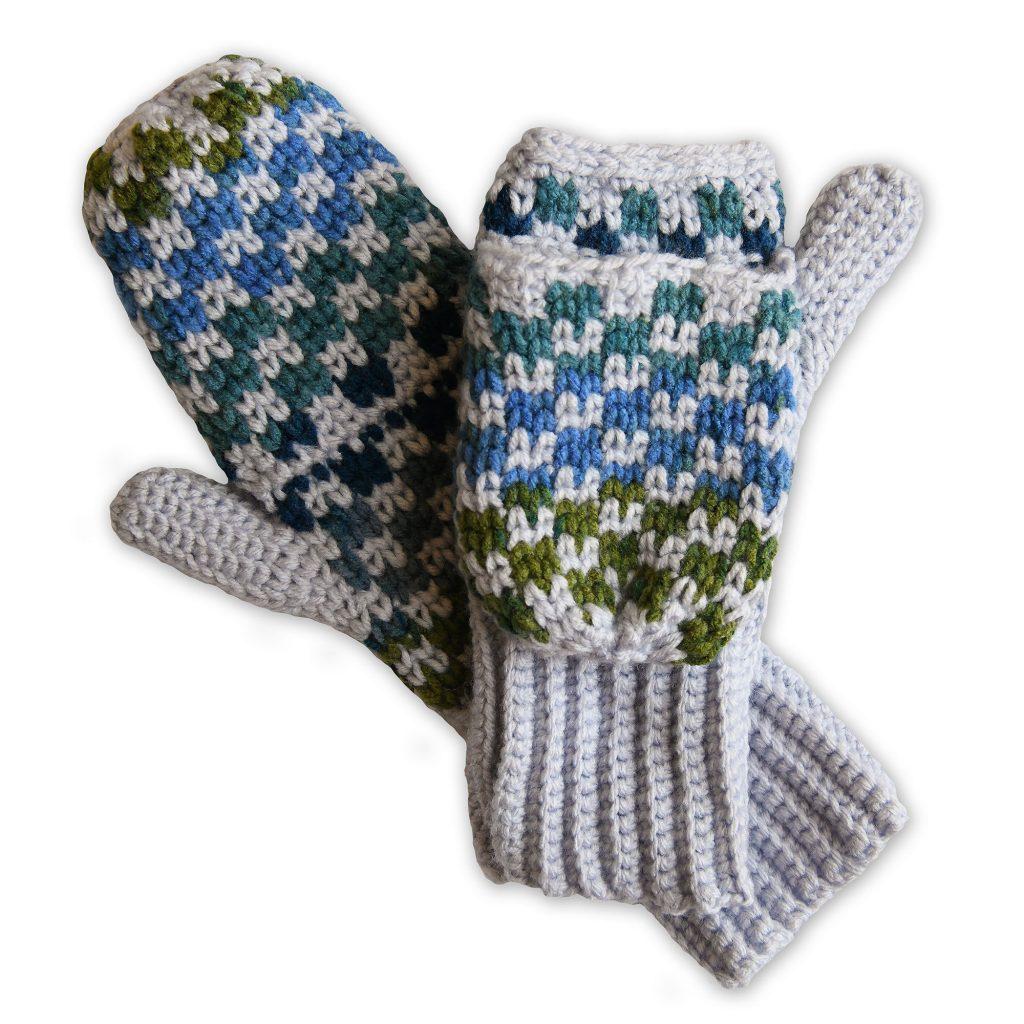 3 in 1 Crochet Handwarmers Free Pattern